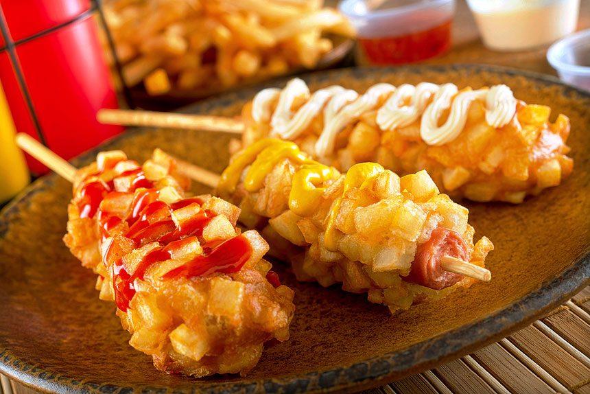 Resep Tokkebi Hotdog Atau Hotang Yummy Khas Korea Resepque Com