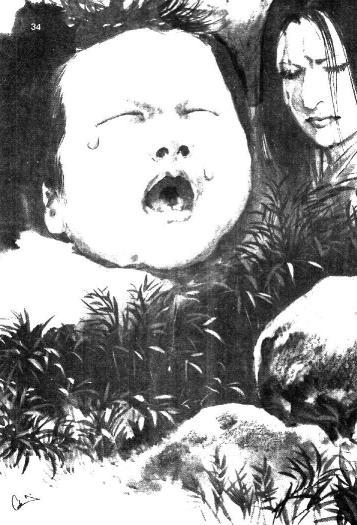 ตำนานผีญี่ปุ่น เรื่องก้อนหินร้องไห้ยามค่ำคืน
