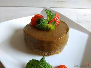 Mousse de aguacate y cacao sin gluten