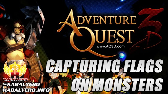 Capturing Flags On Monsters O_o » Let's Play AdventureQuest 3D #4 (STEAM Early Access)