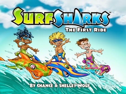 Surf Sharks: The First Ride cover
