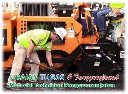 Tugas Material Technician Pengawasan Jalan