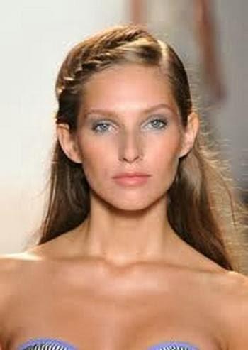 Gambar model rambut kepang 33