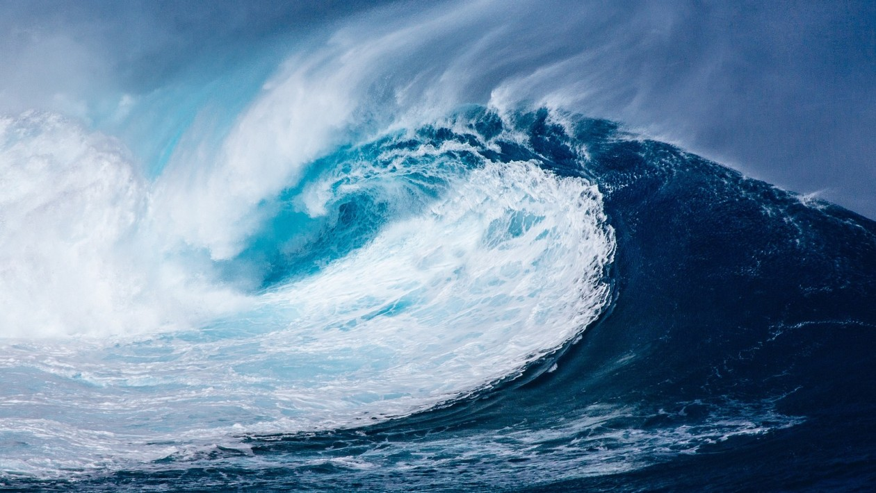 os tsunamis podem atingir alturas assustadoras