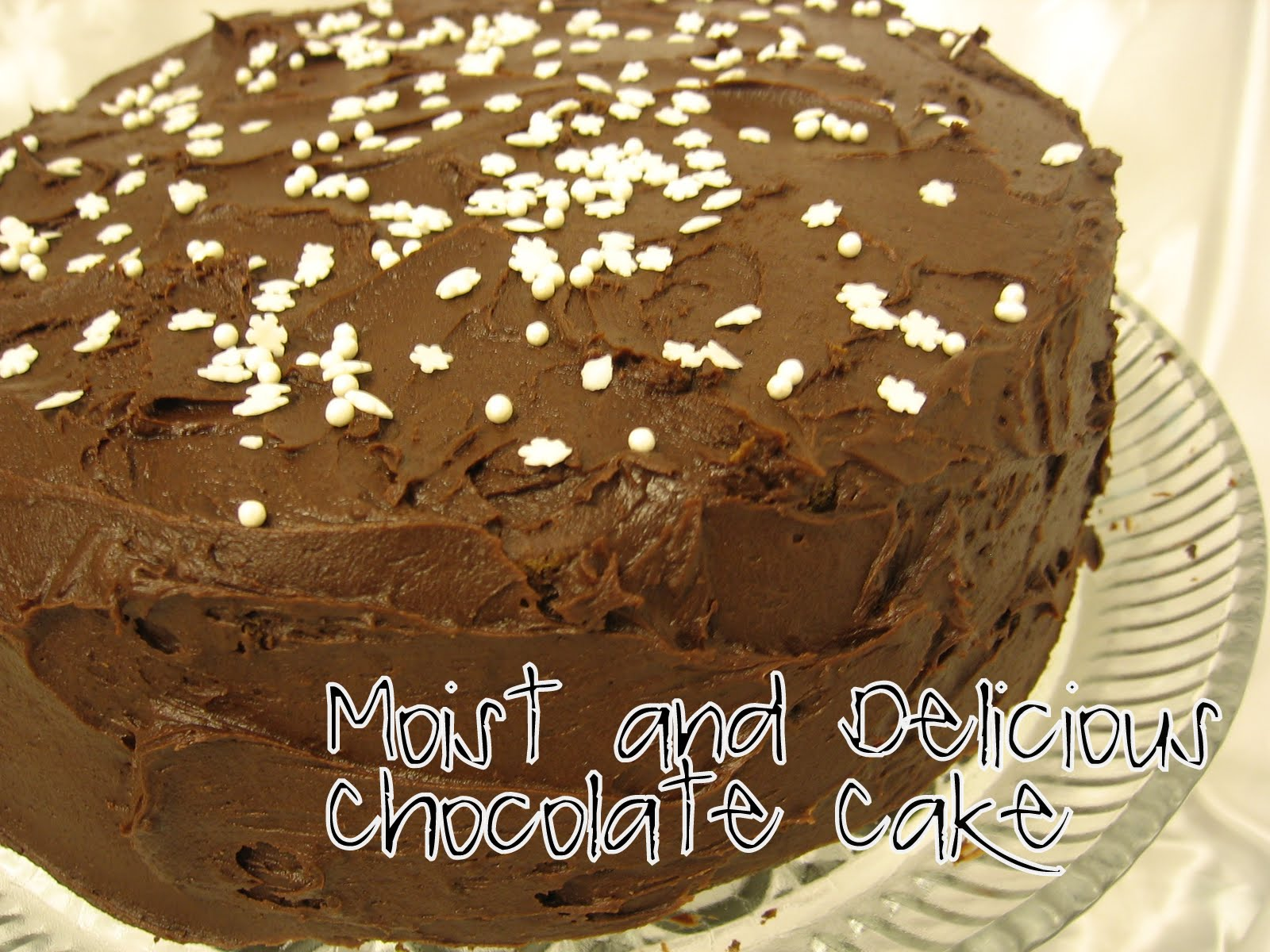 Chocolate Cake Recipe From Scratch: The Mommy Diaries: Delicious Chocolate Cake {from Scratch}