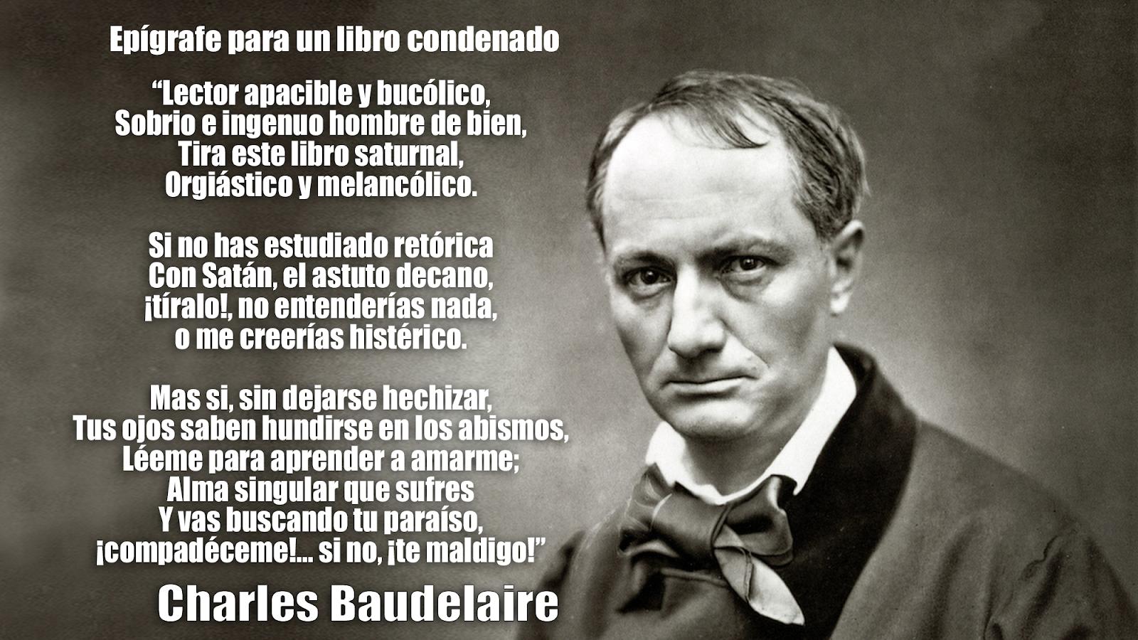 Resultado de imagen para Fotos de Charles Baudelaire