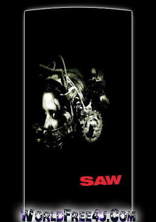 Poster Of Saw In Dual Audio Hindi English 300MB Compressed Small Size Pc Movie Free Download Only At worldfree4u.com
