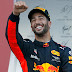 #Fórmula1: En un circuito accidentado, Daniel Ricciardo se quedó con el primer lugar