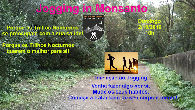 Jogging em Monsanto com a Trilhos Nocturnos