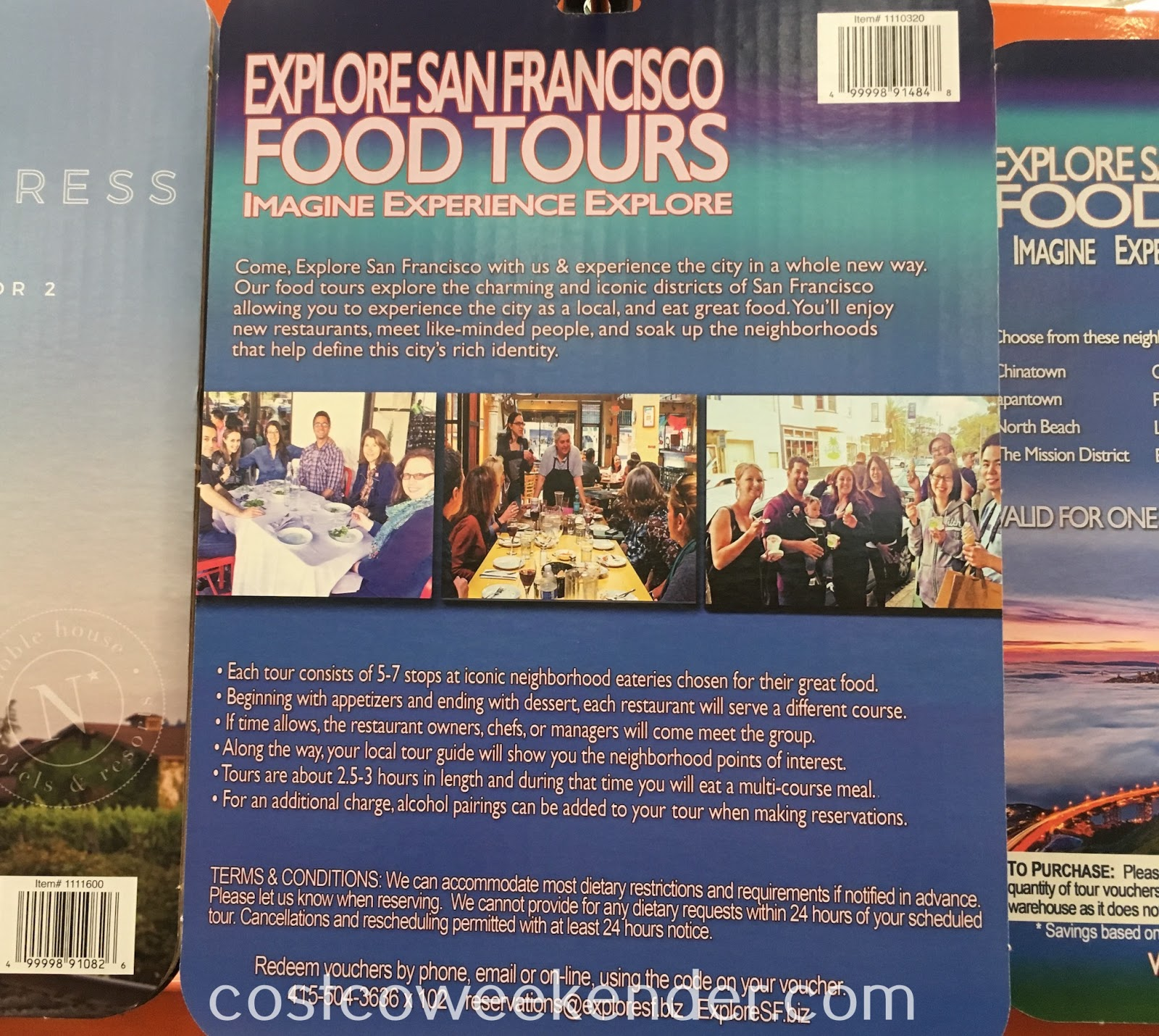 Costco 1110320 - Explore San Francisco Food Tour: great for tourists or natives alike