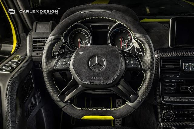 ブラバス仕様の「メルセデスG500 4x4²」のインテリアをCarlexデザインが徹底的にカスタム!