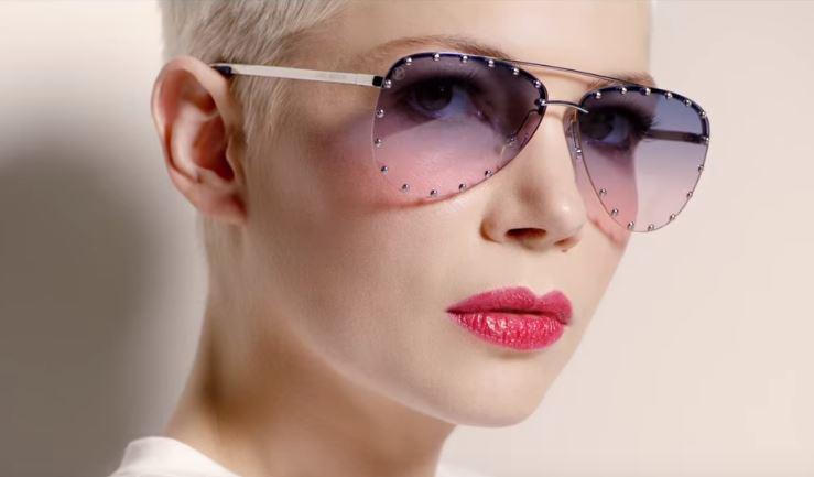 Modella Louis Vuitton pubblicità collezione occhiali 2017 con Foto - Maggio 2017