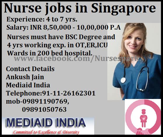 Nurse Jobs In Singapore Indian E Paper Jobs Ads