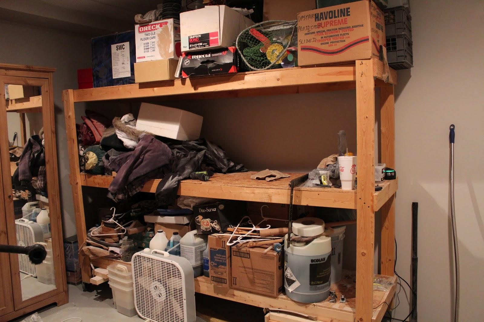 storage shelves diydesignfanaticcom garage storage basement storage