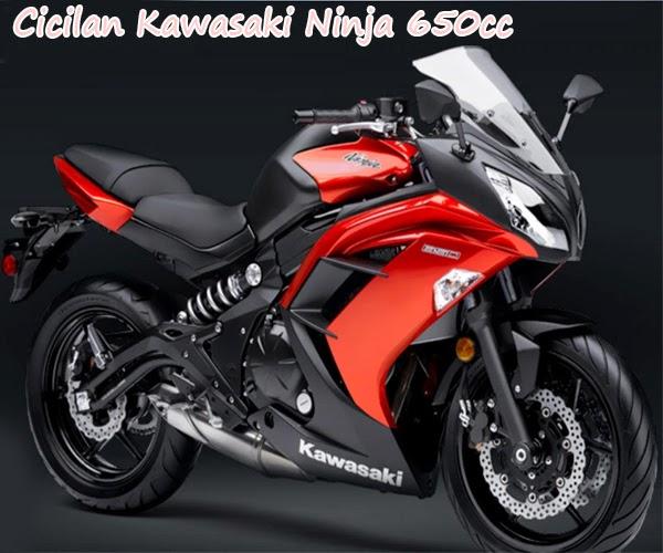 Kredit Motor Kawasaki Ninja 2015