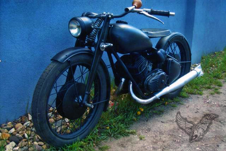 Vintage Bike Of The Day Custom Csepel Pannonia Bobber