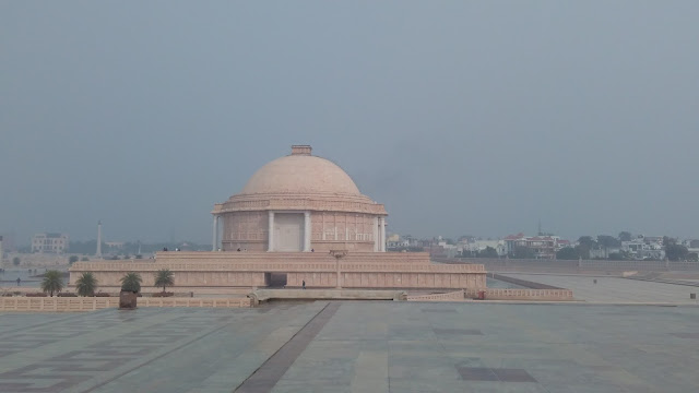 a view of ambedkar park