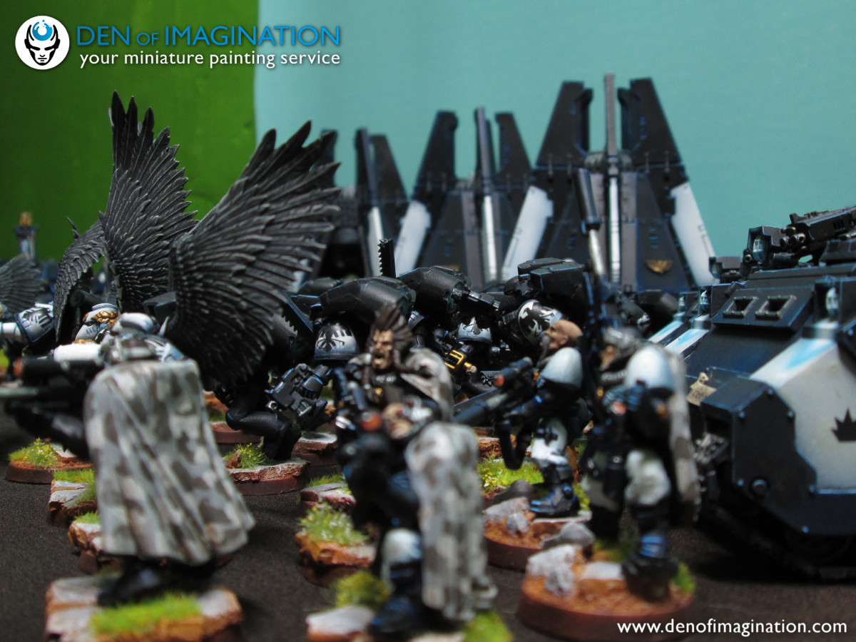 designer fashion 8d9bc 22e29 The Raven Guard in all it s glory. Full army shots. You can find more  photos on our flicker page and on the previous blog posts.