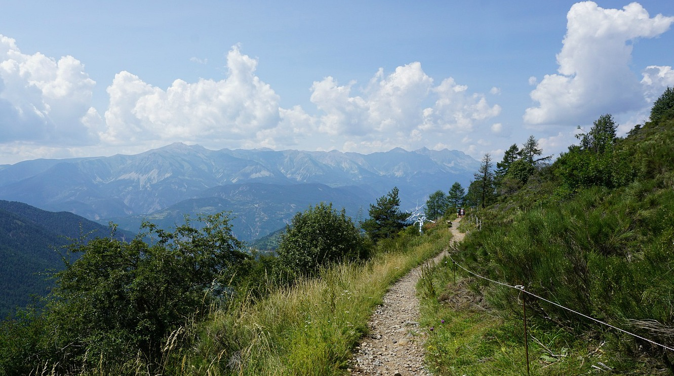 Planetary trail near Valberg