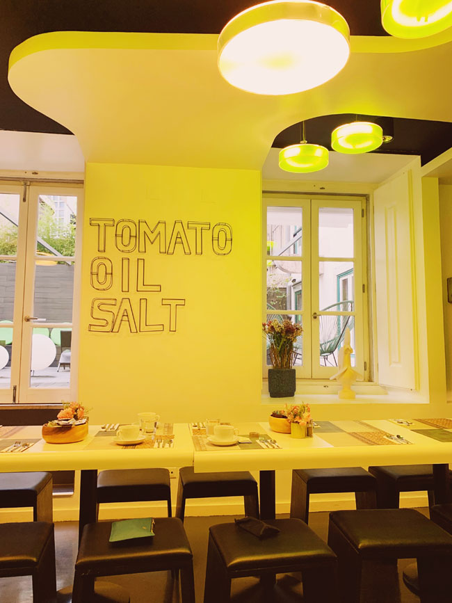 Where to stay in Lisbon - Gat Rooms Rossio - breakfast room