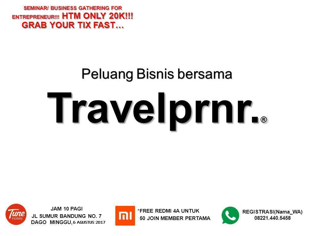 Peluang Bisnis Travelprnr  Tune Hotel Dago Bandung 6 Agustus 2017