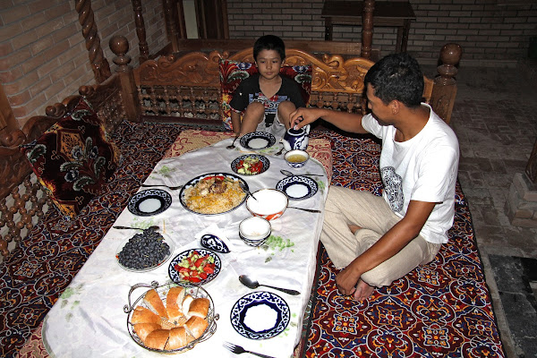 Ouzbékistan, Samarcande, Oxus, Sobir, plov, tapchane, tapshan, © L. Gigout, 2012
