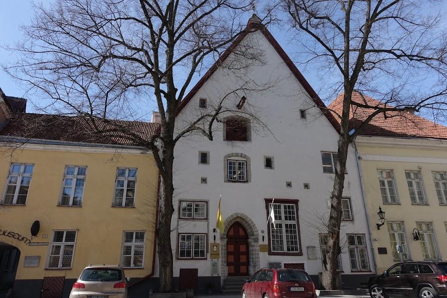 フック・ハウスと自然博物館(Loodusmuuseum)