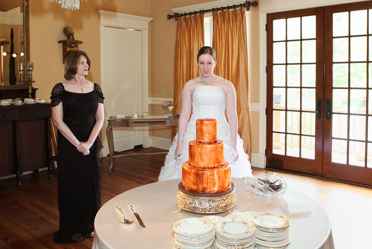 NC Triangle Weddings Blog: Matt And Megan's Cake Story And