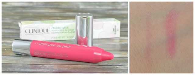 Clinique chubby stick 17 plumped up pink und Swatch