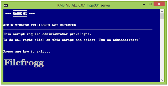 KMS VL ALL Windows And Office Activator