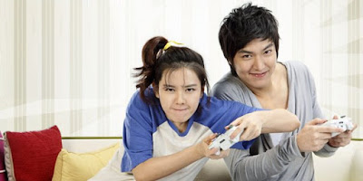 Lee Min Ho and Ye Jin Son