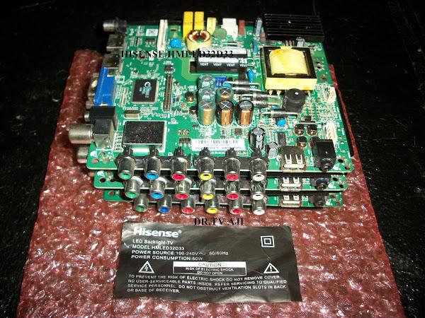 SPAREPART LED HISENSE HMLED32D33