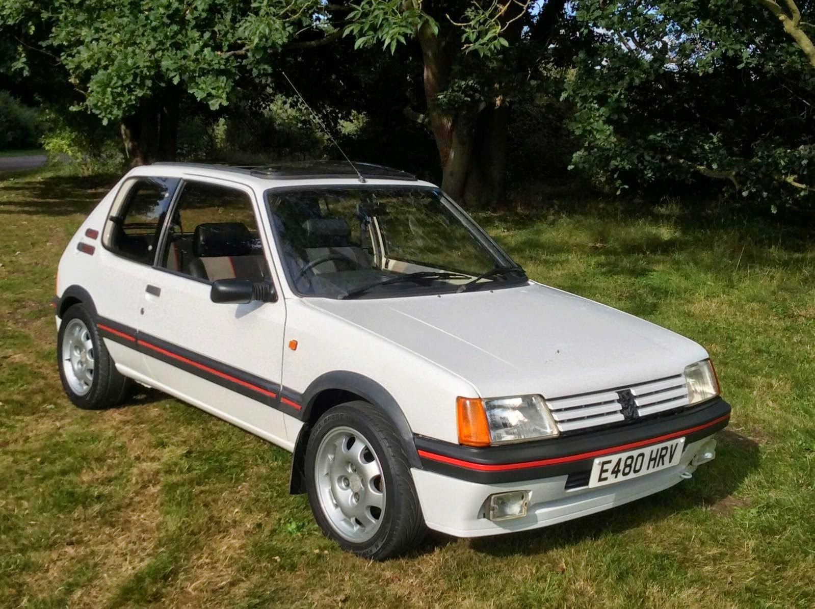 original 1987 peugeot 205 gti auto restorationice. Black Bedroom Furniture Sets. Home Design Ideas