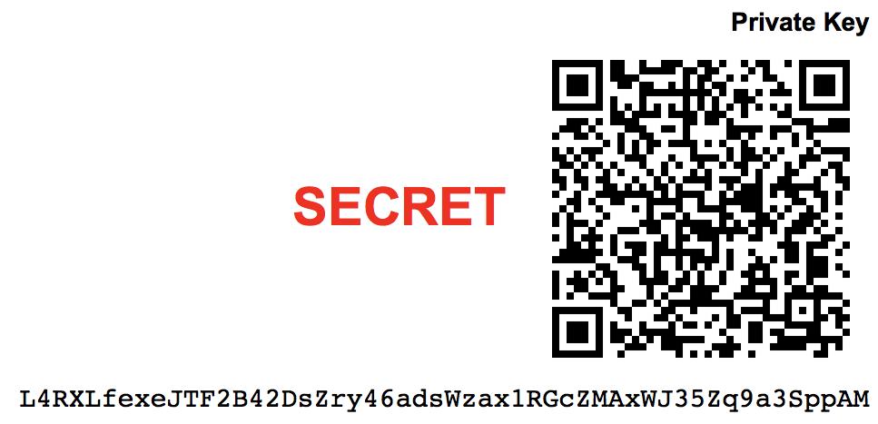 Com'è fatta una chiave privata Bitcoin