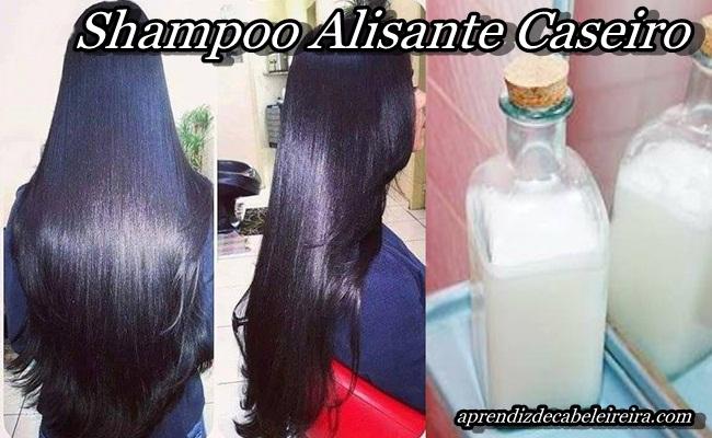 SHAMPOO ALISANTE CASEIRO NATURAL
