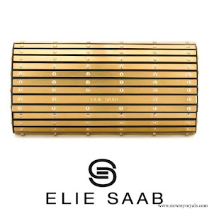 Crown Princess Victoria carries Elie Saab clutch