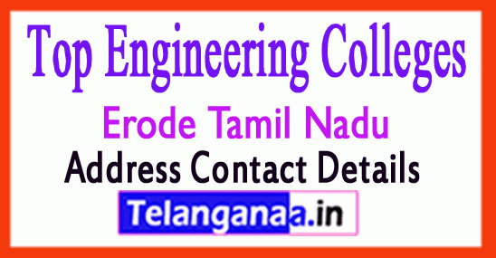 Top Engineering Colleges in Erode Tamil Nadu