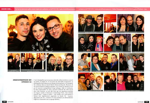 "Article du magazine ""Layalina"" du mois de mars 2013."