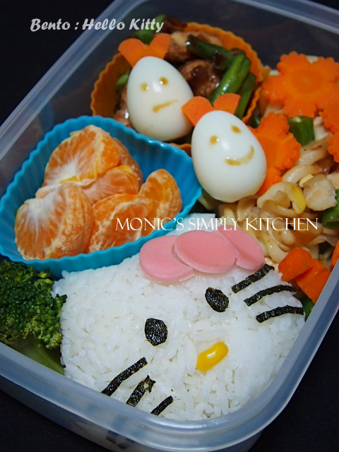 resep bento hello kitty