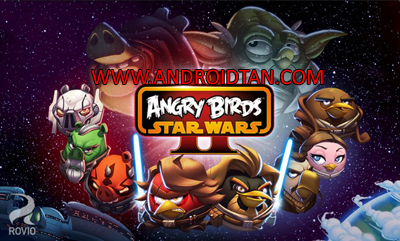 Download Angry Birds Star Wars II Free Mod Apk v1.9.19 (Unlimited Money) Android Terbaru 2017