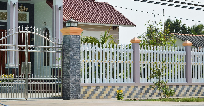 Kết quả hình ảnh cho Tường rào bê tông ly tâm