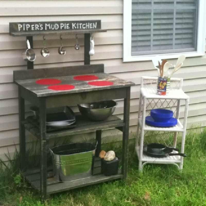 Instrucciones para hacer una cocina for Cocinas hechas con palets
