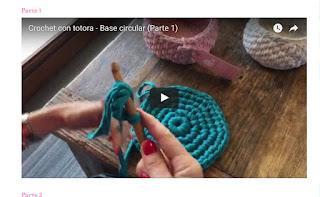 Como hacer base circular con totora