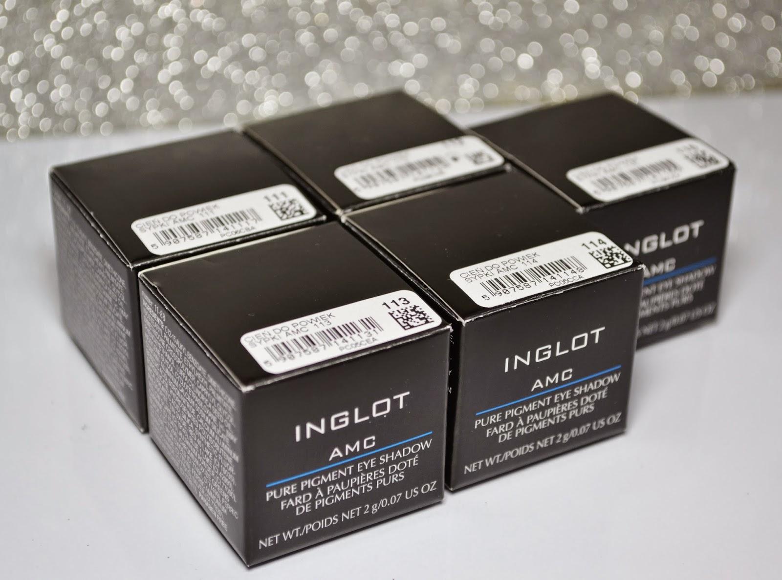 inglot pigmenty