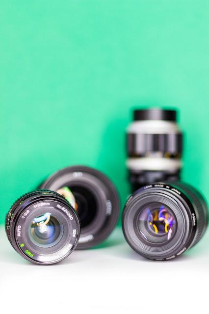 Car Boot Haul - Camera Lenses, Manual Focus Secondhand Lenses, AF Canon Lens