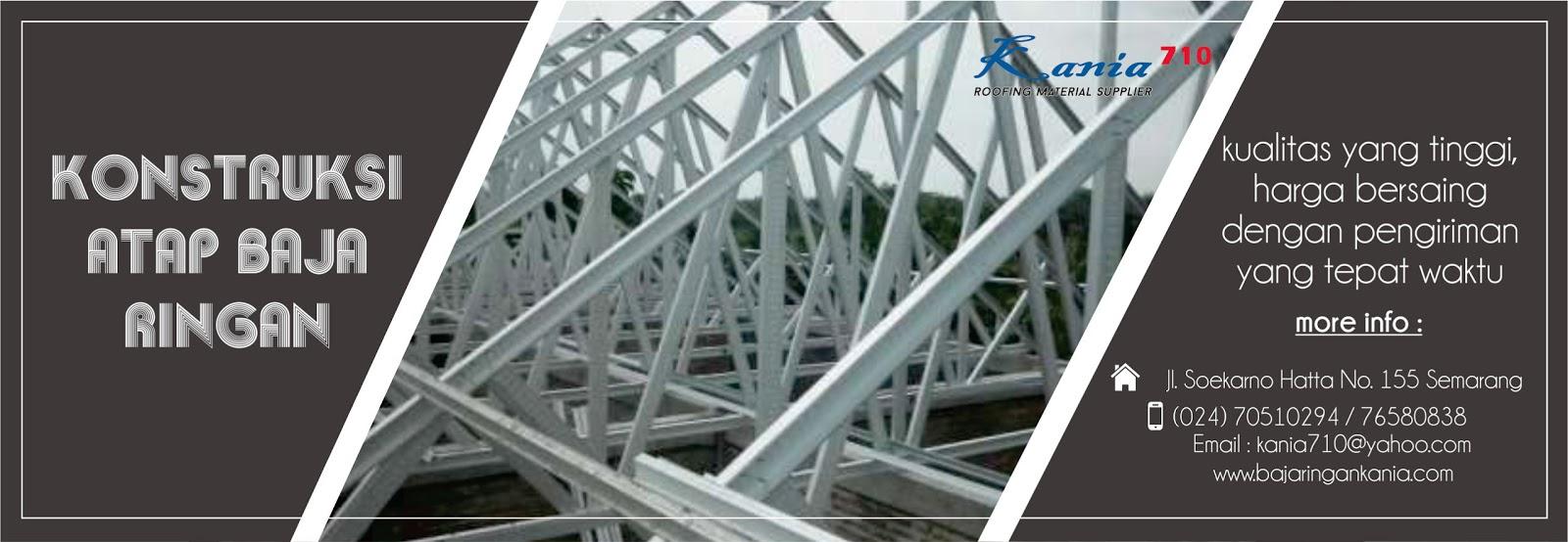 toko baja ringan kudus rangka atap lengkap berkualitas harga