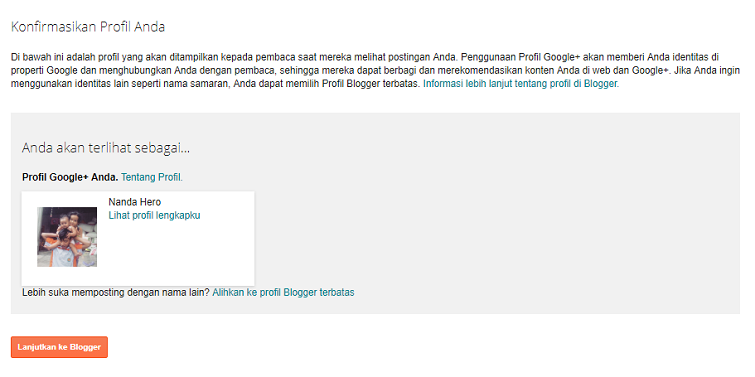membuat blog gratis di blogspot 2