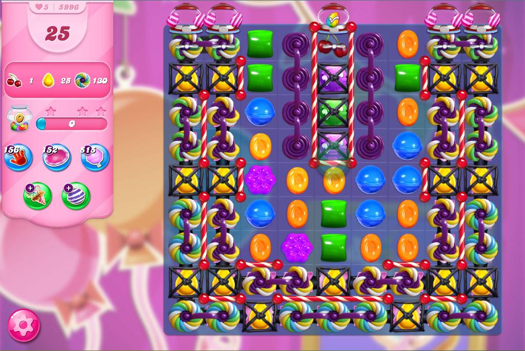 Candy Crush Saga level 5996