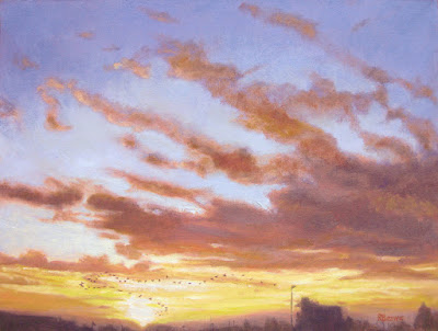 Heading South oil painting by Robie Benve