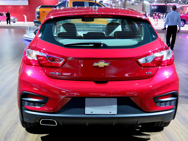 Chevrolet Cruze Hatch 2017 - traseira